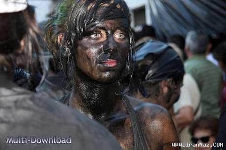 عکس های جشنواره کثیف ترین دختران و پسران دنیا