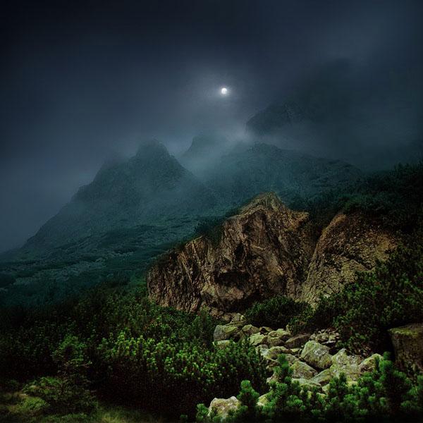 عکس هایی از دنیای زیبا و شگفت انگیز یک هنرمند !!