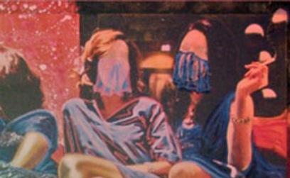 زندان برای رنگ کردن عکس های زنان برهنه +عکس