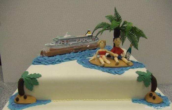 عکس هایی از عجیب ترین و خنده دارترین کیکهای تولد