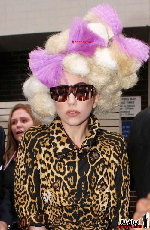 خنده دار ترین لباس های لیدی گاگا در سال 2011 ، www.irannaz.com