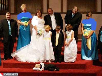 جالب ترین و عجیب ترین عکس عروسی های دنیا