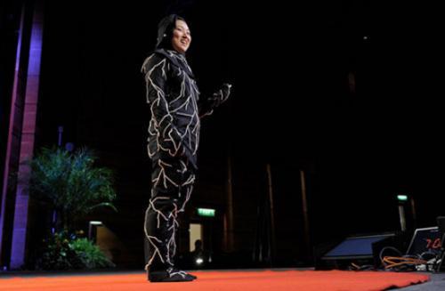 ابداع لباسی مخصوص جسد انسان!! +عکس