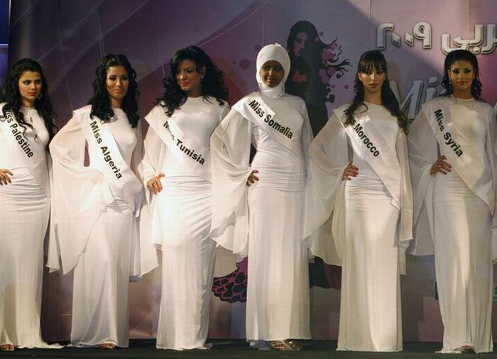 عکس هایی زیبا و دیدنی از مراسم زیباترین دختر عرب