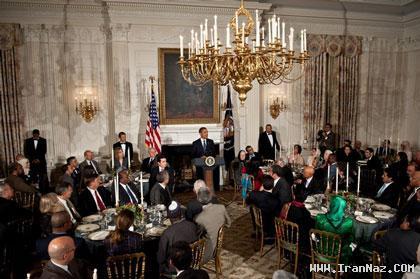 وقتی اوباما جو گیر می شود و افطاری میدهد +عکس