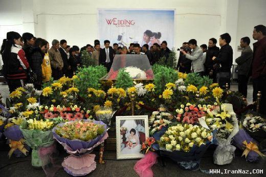 عکسهای دردناک ازدواج یک مرد با جنازه دختر 21ساله ، www.irannaz.com