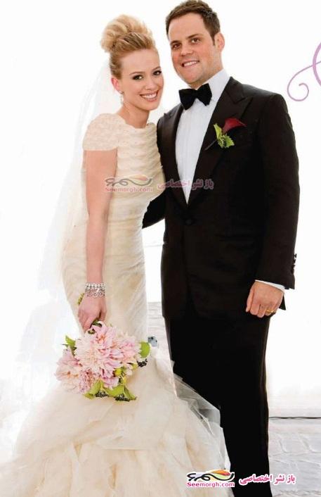 عکسهای مراسم ازدواج دختر ثروتمند هالیوود