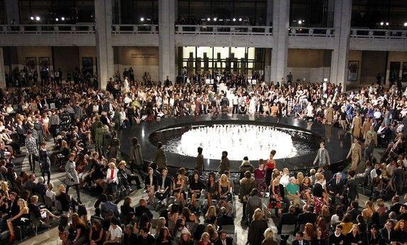 عکسهای افتتاحیه هفته فشن نیویورک 2010