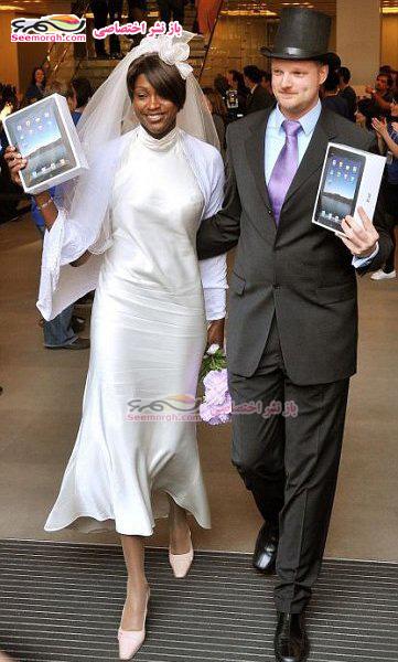 زن و شوهری با قد و قامتی عجیب!!