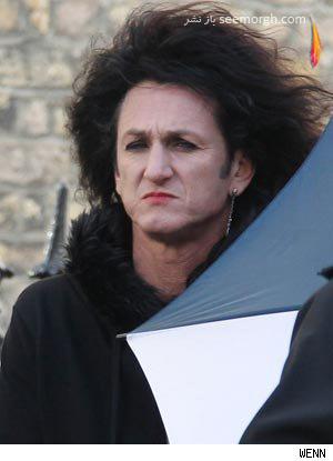 چهره زنانه شان پن در فیلم جدیدش !!