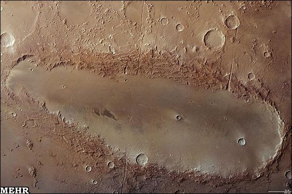 تصویر ردپای چکمه بر مریخ (+عکس)