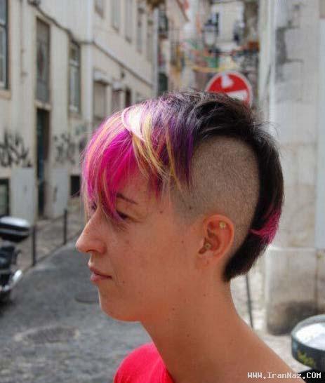 عکس هایی از خنده دار ترین مدلهای موی فشن جهان