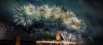 عكس هایی تماشایی و جالب از زیباترین آتش بازی ها
