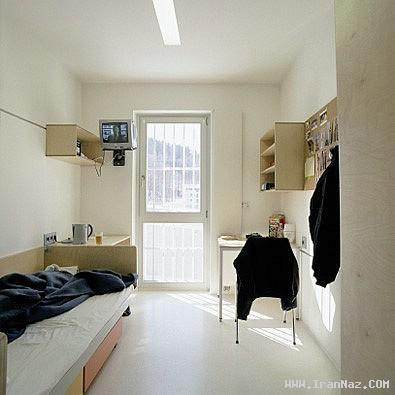 پرداخت 30 دلار برای یك شب اقامت در یک زندان !!!