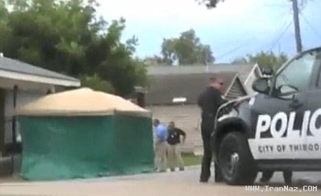 مردی سر پسرش را برید و جلوی همسرش گذاشت!!