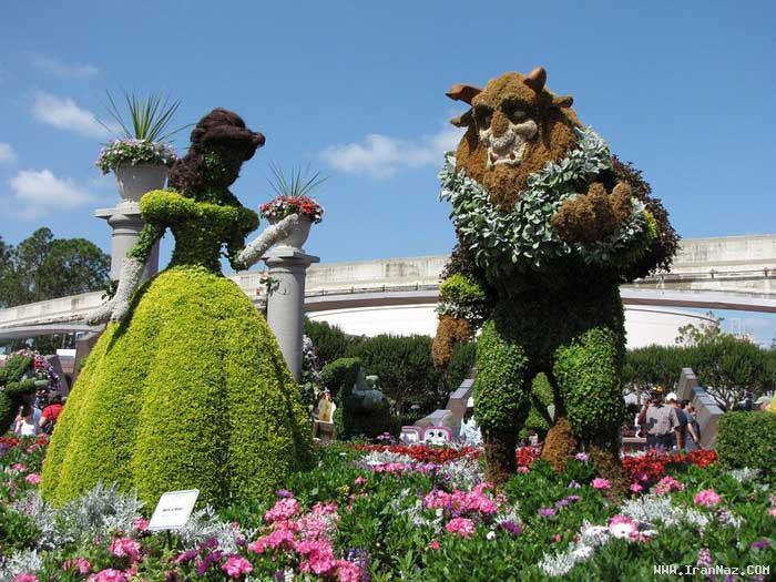 عکس های شگفت انگیز از جشنواره طراحی گل و گیاه
