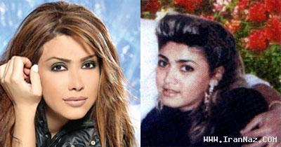 عکس هایی از قبل و بعد آرایش معروف ترین زنان عرب