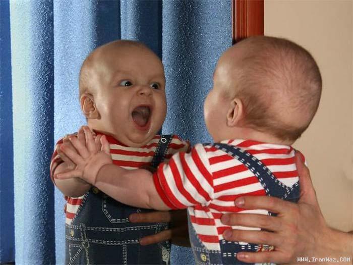 عکس هایی خنده دار و بسیار جالب از کودکان نازنین