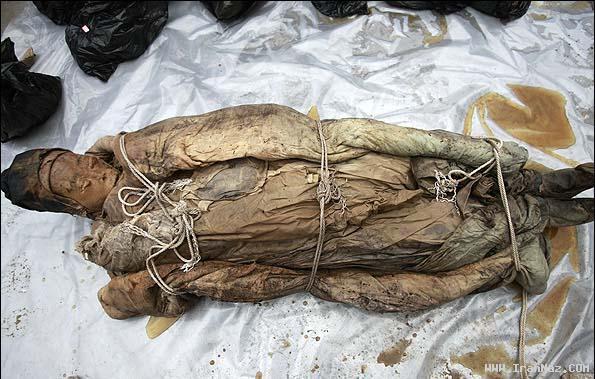 کشف جسد سالم یک زن پس از 367 سال + عکس