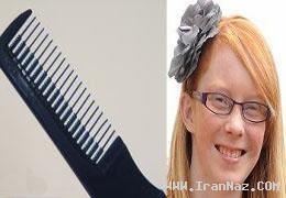 دختری که اگر موهایش را شانه کند خواهد مرد+عکس