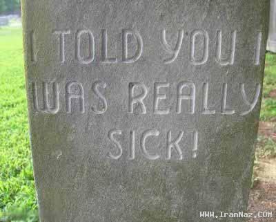عکس های عجیب ترین و خنده دار ترین سنگ های قبر