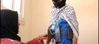 استفاده از دختران و زنان برای عملیات انتحاری+عکس