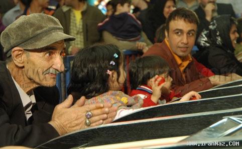 عکس هایی بسیار خنده دار و دیدنی از احمد پور مخبر ، www.irannaz.com