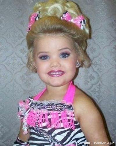 عکس های مراسم ملكه زیبایی دختران زیر 10 سال