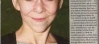 دختر عجیب 13 ساله با چهره ای 50 ساله!! +عکس