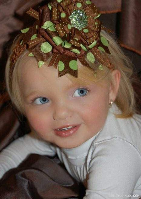 عکس های ناز از زیباترین دختران زیر هفت سال جهان
