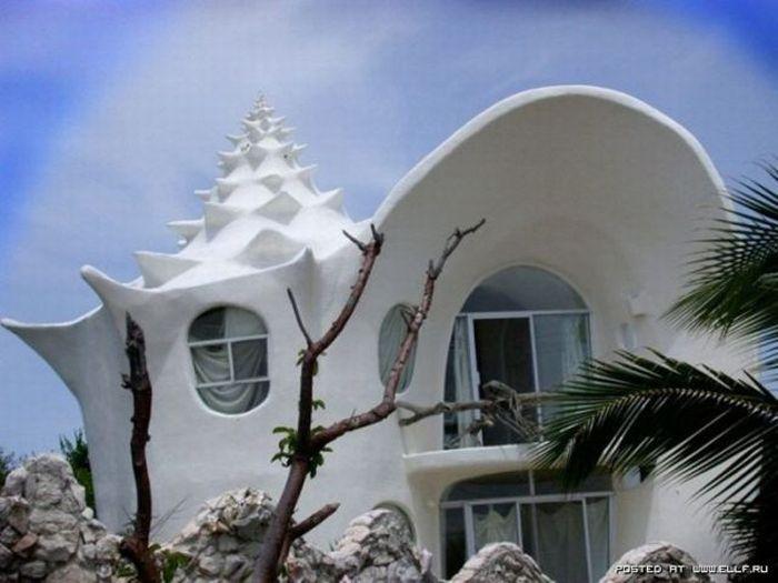 عکس هایی از ساختمان های عجیب و شگفت انگیز