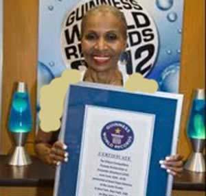 پیر ترین زن بدنساز در جهان با 75 سال سن + عکس