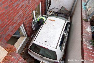 عکس های دیدنی از عجیب و خنده دارترین تصادف ها