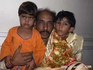 ازدواج اجباری پسری 7 ساله با دختر 5 ساله +عکس ، www.irannaz.com