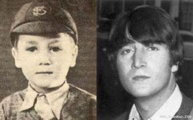عکس های دیدنی کودکی ستاره های معروف هالیوود