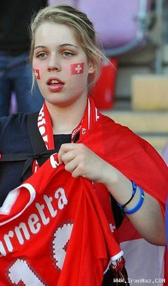 عکس هایی از دختران جذاب در استادیوم های فوتبال