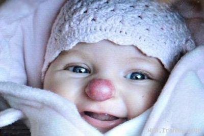 عکس هایی از دختری بسیار عجیب و شبیه به دلقک