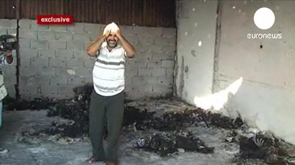 عکس های جنجالی ازاجساد سوخته انقلابیون لیبی