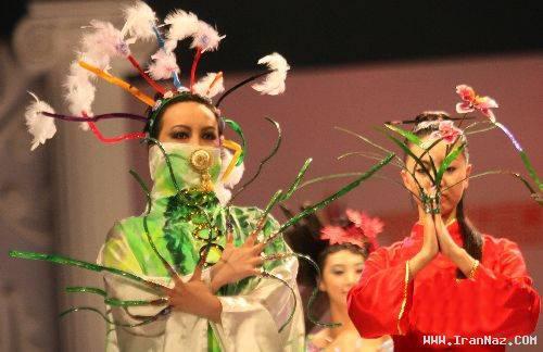 عکس های مسابقه عجیب مد و ناخن زنانه در چین!!