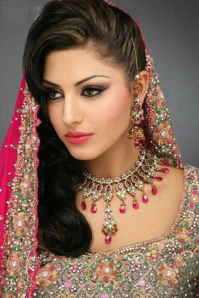 بازیگران هندی عکس های زیبا و چشم نواز از آرایش عروس هندی
