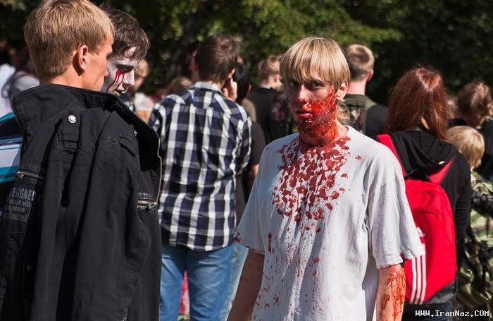 عکس هایی دیدنی از گردهمایی آدمخواران در روسیه