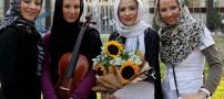 عکس هایی ازاولین گروه دخترانه موسیقی پاپ ایران