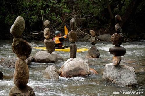 عکس های رودخانه تعادل ، عجیب ترین رودخانه جهان