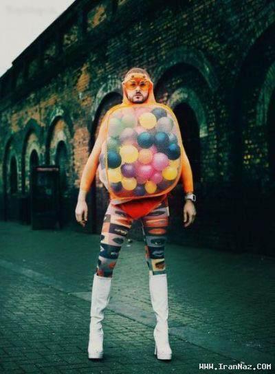 عکس هایی خنده دار از لباس های عجیب و احمقانه