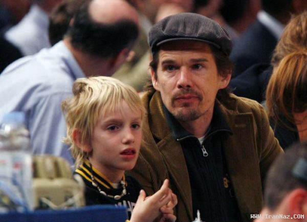 عکس های بازیگران هالیوودی به همراه بچه هاشون
