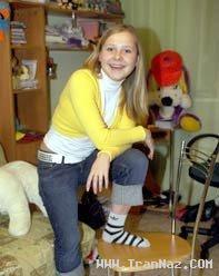دختری 23 ساله با چشمانی عجیب و جادویی +عکس