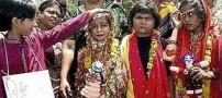 ازدواج عجیب و باور نکردنی دو دختر با قورباغه! +عکس