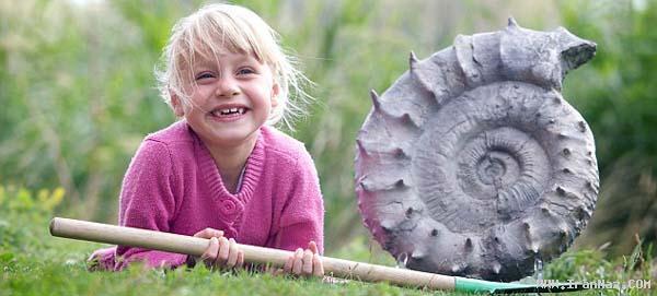 عجیب ترین کشف جهان توسط دختر 5 ساله +عکس
