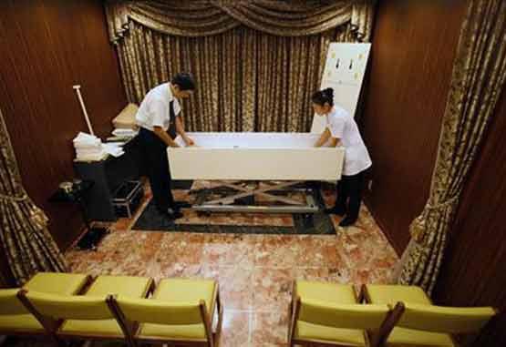 ساخت هتلی برای استراحت اجساد در ژاپن!! +عکس