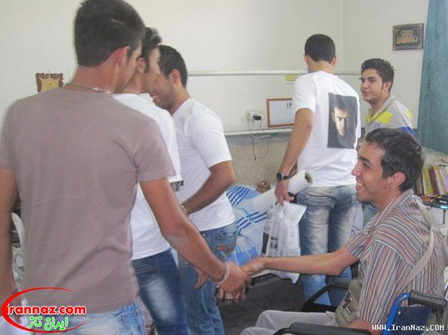 عکس هایی از جشن طرفداران محسن چاووشی در آسایشگاه کهریزک